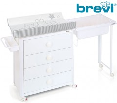 Brevi - CÓMODA IDEA Branca Bianconiglio