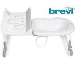 Brevi - Banheira com cuba reversivel BAGNOTIME Bianconiglio