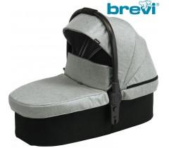 Brevi - Alcofa macia ADON Silver Grey