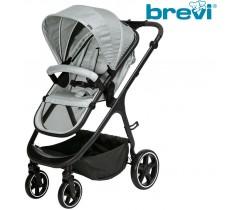 Brevi - Cadeira de rua ADON Silver Grey