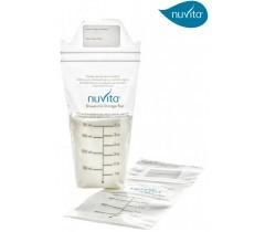 Nuvita - Bolsa de armazenamento para leite materno