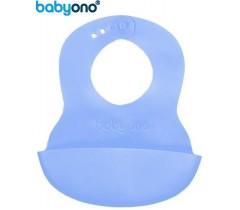 Baby Ono - Babete ajustável azul