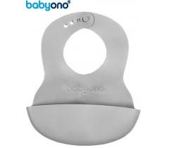 Baby Ono - Babete ajustável cinza