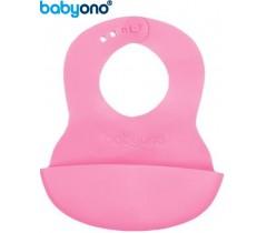 Baby Ono - Babete ajustável rosa