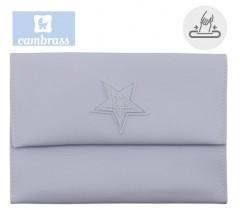 CAMBRASS - PORTA TOALHITAS AZUL 13x22 CM