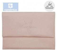 CAMBRASS - PORTA TOALHITAS ROSA 13x22 CM