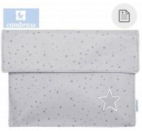 CAMBRASS - PORTA DOCUMENTOS ASTRA CINZA 3x17x25 CM