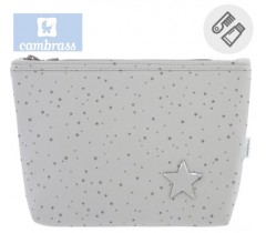 CAMBRASS - NECESSAIRE ASTRA CINZA 6x28x20 CM