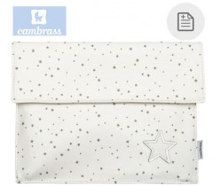 CAMBRASS - PORTA DOCUMENTOS ASTRA BEGE 3x17x25 CM