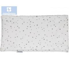 CAMBRASS - TOALHETE ASTRA CINZA / ESTRELA 29,5x15,5 CM