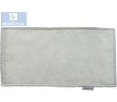 CAMBRASS - TOALHETE CÉU CINZA / CHUVA 29,5x15,5 CM