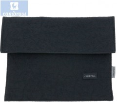 CAMBRASS - PORTA DOCUMENTOS PRETO ELITE 3x17x25 CM