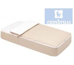 CAMBRASS - SACO DE DORMIR CÉU BEIGE 60x120 CM
