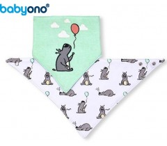 "Baby Ono - Babete ""Bandana""  cão"