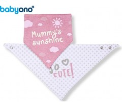 "Baby Ono - Babete ""Bandana""  so cute!"