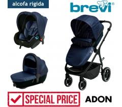 Brevi - Trio com alcofa homologada ADON Blue Blazer