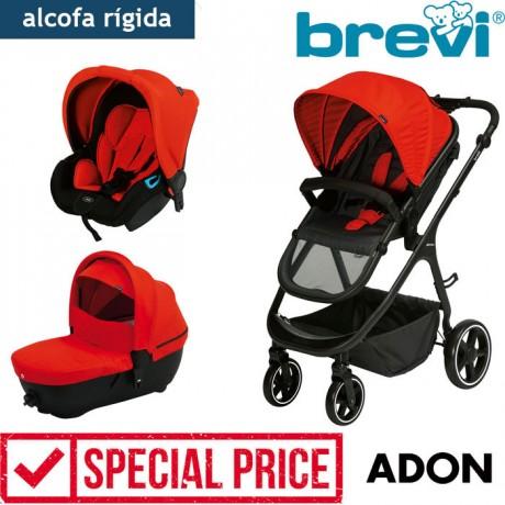Brevi - Trio com alcofa homologada ADON Red Sport