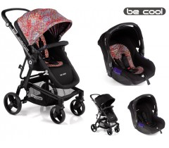 Be Cool - Carrinho de bebé Quantum + Zero Ethnic