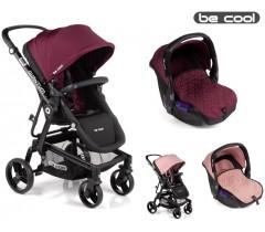 Be Cool - Carrinho de bebé Quantum + Zero Coupage