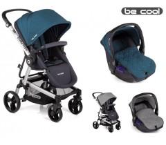 Be Cool - Carrinho de bebé Quantum + Zero Scottish