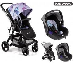 Be Cool - Carrinho de bebé Quantum + Zero Butterfly
