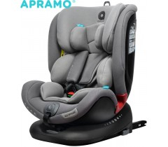 APRAMO - ALL STAGE Cadeira Gr. 0+1+2+3 Slate Grey
