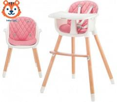 Baby Tiger - Cadeira da papa Tini Pink