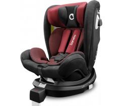 Lionelo - Cadeira auto BRAAM RED BURGUNDY isofix 360º (0-36 Kgs)