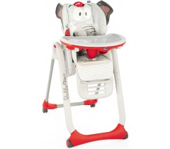 Chicco - Cadeira da papa Polly 2 Start Baby Elephant