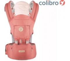 COLIBRO - Porta bebés HONEY 6 in 1 Flamingo