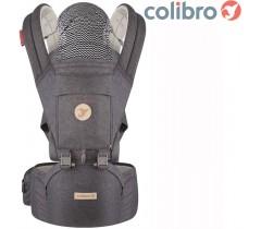 COLIBRO - Porta bebés HONEY 6 in 1 Onyx