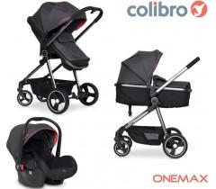 COLIBRO - Carrinho Multifuncional ONEMAX 3 in 1 Onyx