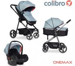 COLIBRO - Carrinho Multifuncional ONEMAX 3 in 1 Sky