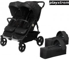 PLAYXTREM - BABY TWIN + 2 Alcofas Irongate