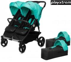 PLAYXTREM - BABY TWIN + 2 Alcofas Jade