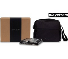 PLAYXTREM - Pack bolsa + Protetor de chuva Dark