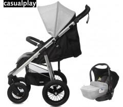 CASUALPLAY - LOPPI ALLROAD +BABY 0+ Rhino, pack 2