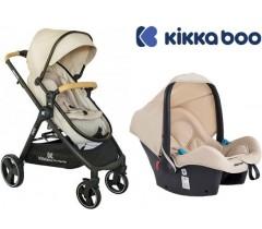 Kikka Boo - Duo, carrinho convertível + Grupo 0+ Bali Beje Melange