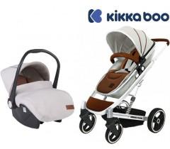 Kikka Boo - Duo, carrinho convertível + Grupo 0+ Divaina Beje Melange