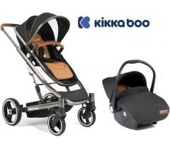 Kikka Boo - Duo, carrinho convertível + Grupo 0+ Divaina Preto