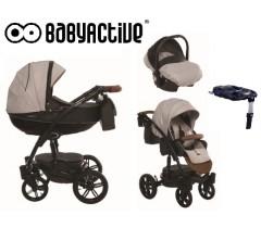 BabyActive - Carrinho de bebé 4 in 1 Exclusive