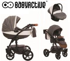 BabyActive - Carrinho de bebé 3 in 1 Exclusive