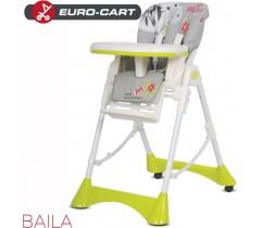 EURO-CART - Cadeira da papa BAILA Zebra