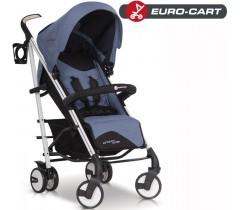 EURO-CART - Carrinho de bebé CROSSLINE Denim