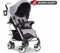 EURO-CART - Carrinho de bebé CROSSLINE Grey Fox