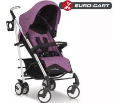 EURO-CART - Carrinho de bebé CROSSLINE Purple