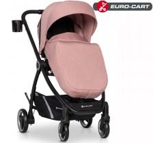 EURO-CART - Carrinho de bebé CROX Rose