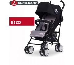 EURO-CART - Carrinho de bebé EZZO Anthracite