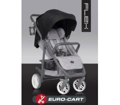 EURO-CART - Carrinho de bebé FLEX Anthracite