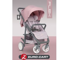 EURO-CART - Carrinho de bebé FLEX Powder Pink